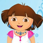 Dora Washing Dresses